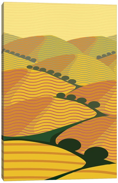 Summer Hills Canvas Art Print