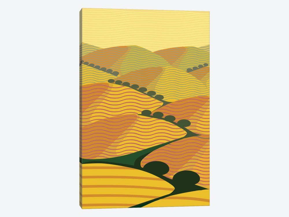 Summer Hills by Charles Harker 1-piece Art Print
