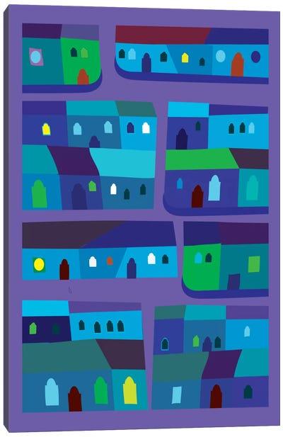 Tepito de Azul Canvas Art Print