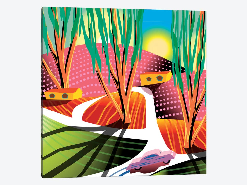 Trip To Elysian Park by Charles Harker 1-piece Canvas Wall Art