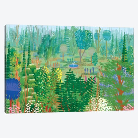 Xochimilco Canvas Print #HRK53} by Charles Harker Canvas Wall Art