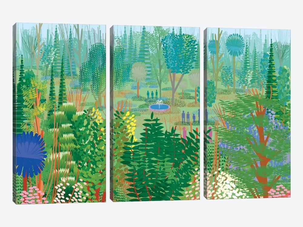 Xochimilco by Charles Harker 3-piece Art Print