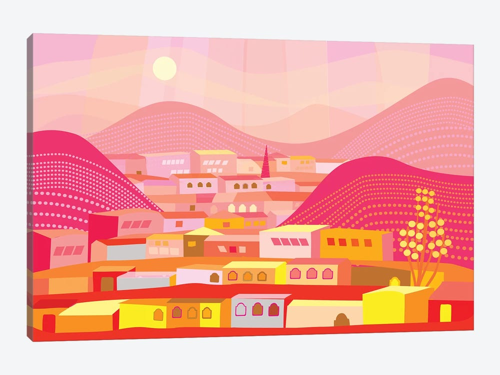 Cananea by Charles Harker 1-piece Canvas Artwork