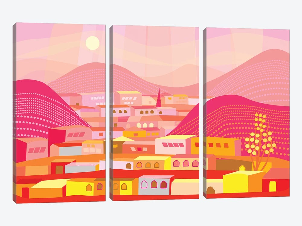 Cananea by Charles Harker 3-piece Canvas Wall Art