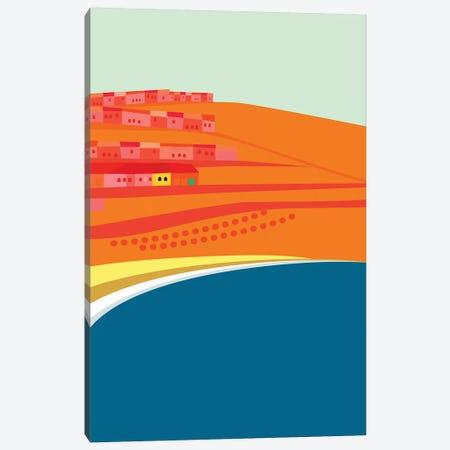Rosarito Seashore Canvas Print #HRK58} by Charles Harker Canvas Art