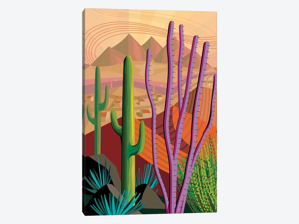 Tucson by Charles Harker 1-piece Canvas Wall Art
