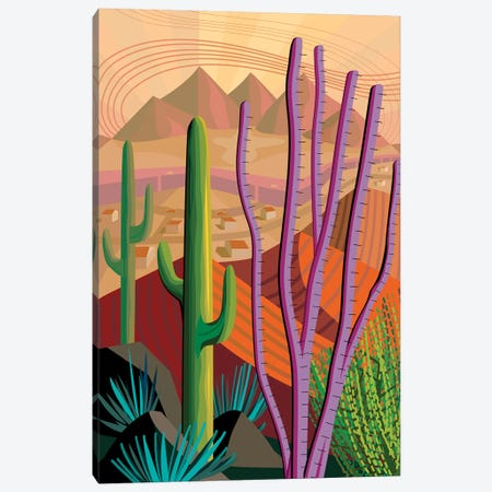 Tucson Canvas Print #HRK61} by Charles Harker Canvas Print