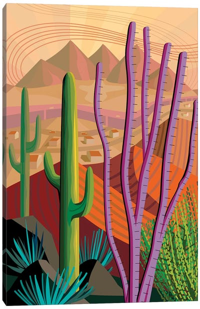 Tucson Canvas Art Print