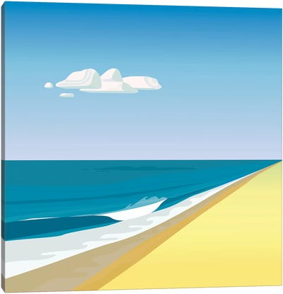 Rothko Beach Canvas Art Print