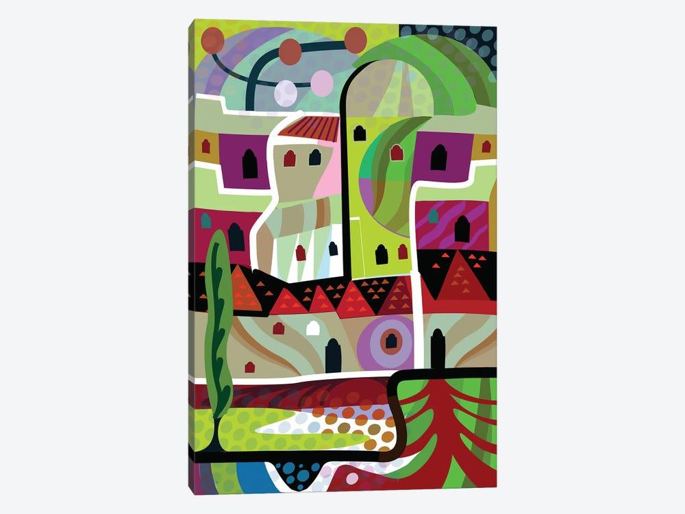Malibu Villa  by Charles Harker 1-piece Canvas Art