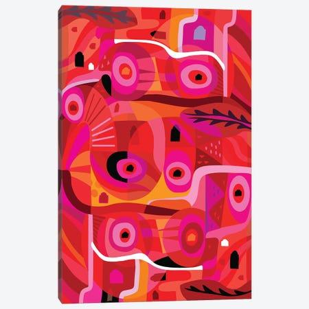 Rosa Mexicana  Canvas Print #HRK74} by Charles Harker Art Print
