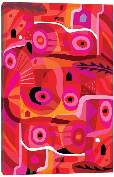 Rosa Mexicana  Canvas Art Print