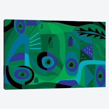 Sea Dream  Canvas Print #HRK75} by Charles Harker Art Print