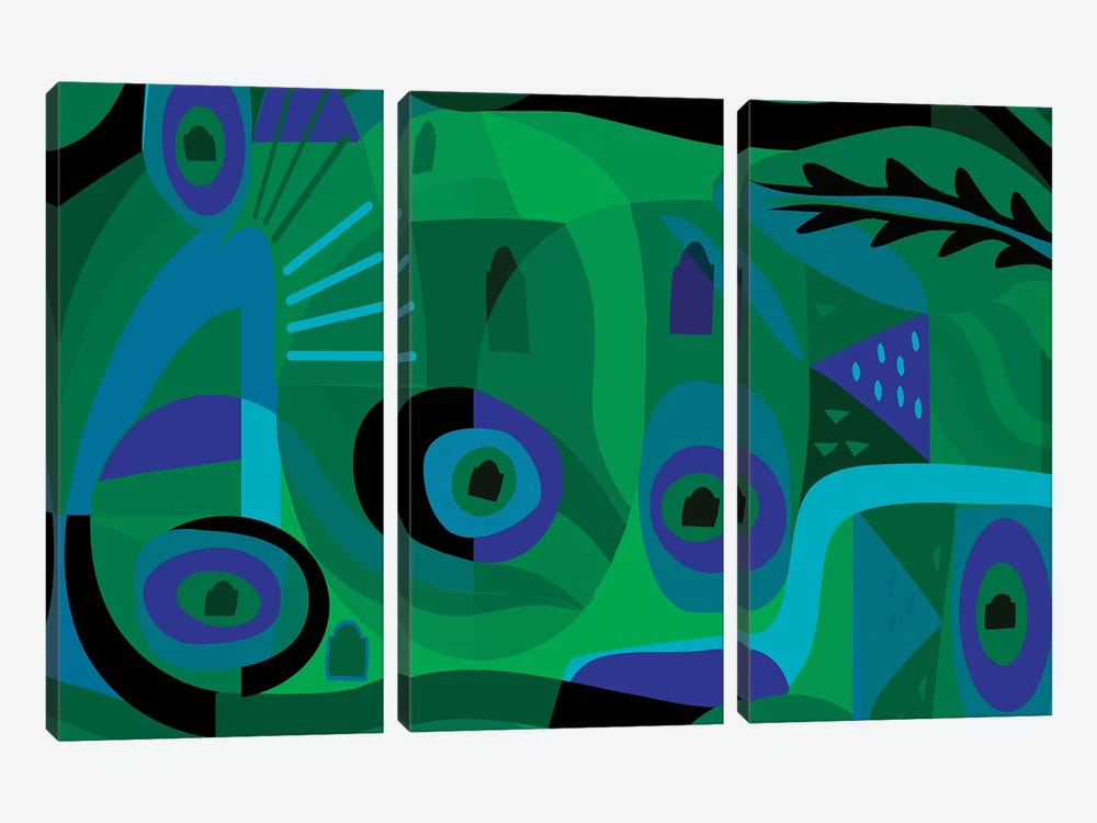 Sea Dream  by Charles Harker 3-piece Art Print