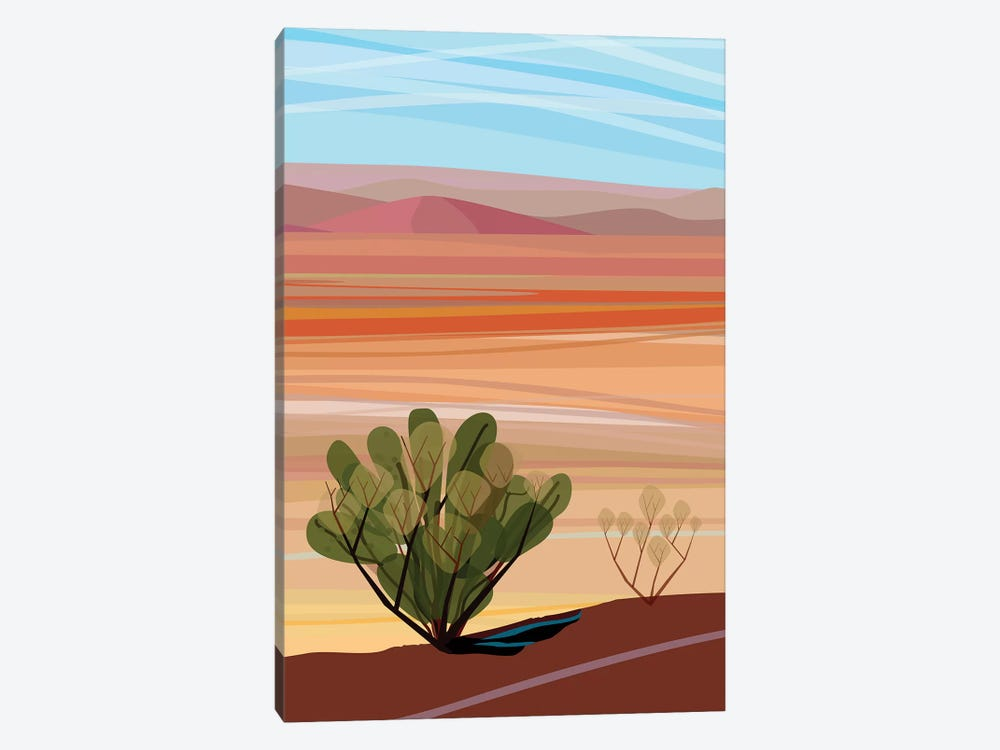 Mojave Desert, Vertical by Charles Harker 1-piece Canvas Artwork