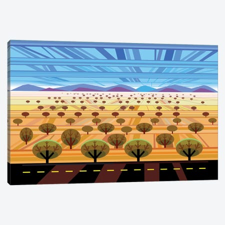 Northern Arizona Canvas Print #HRK79} by Charles Harker Canvas Art