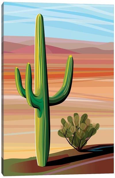 Sonora Desert Saguaro Canvas Art Print