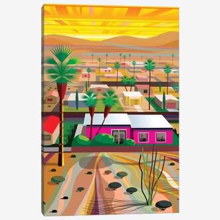Twentynine Palms, Vertical 3-Piece Canvas #HRK84} by Charles Harker Canvas Artwork