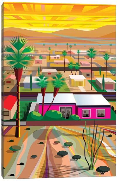 Twentynine Palms, Vertical Canvas Art Print