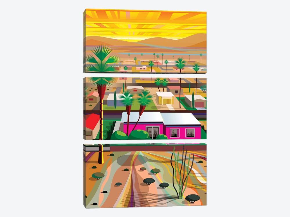 Twentynine Palms, Vertical by Charles Harker 3-piece Art Print
