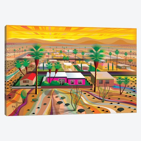 Twentynine Palms Canvas Print #HRK85} by Charles Harker Canvas Wall Art