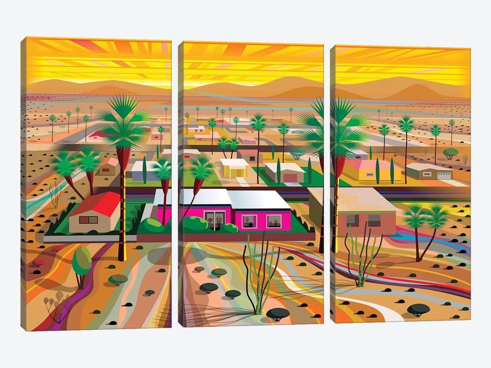 Twentynine Palms by Charles Harker 3-piece Canvas Artwork