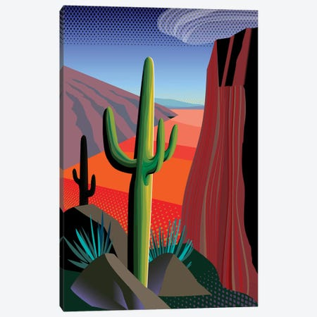 Gringo Pass Canvas Print #HRK89} by Charles Harker Art Print