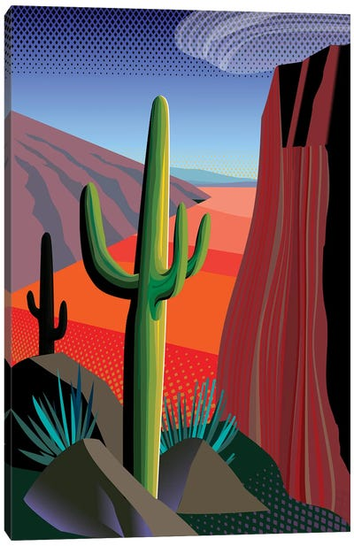 Gringo Pass Canvas Art Print