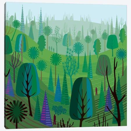 Elysian Park 3-Piece Canvas #HRK8} by Charles Harker Art Print