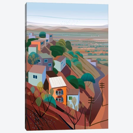Los Altos Canvas Print #HRK90} by Charles Harker Canvas Artwork