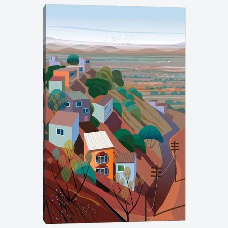 Los Altos Canvas Print #HRK90} by Charles Harker Canvas Artwork