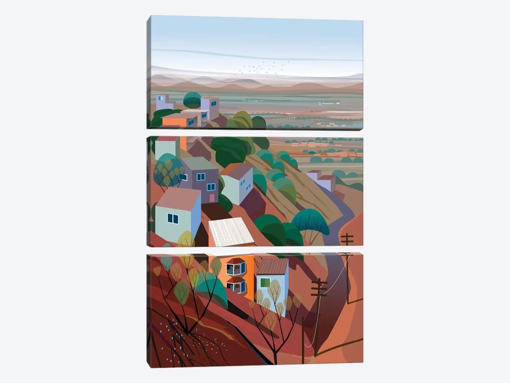 Los Altos by Charles Harker 3-piece Canvas Wall Art