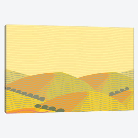 California Landscape Canvas Print #HRK92} by Charles Harker Canvas Wall Art