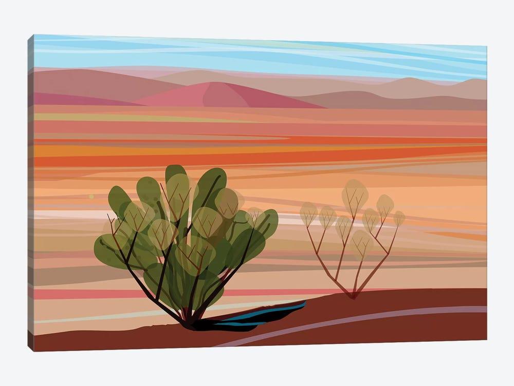 Mojave Desert, Horizontal by Charles Harker 1-piece Art Print