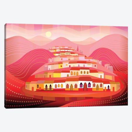 Pueblo Magico 3-Piece Canvas #HRK95} by Charles Harker Art Print