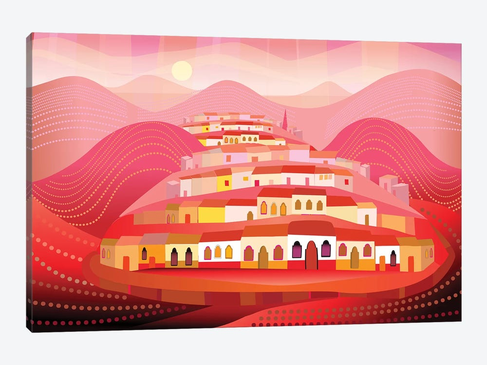 Pueblo Magico by Charles Harker 1-piece Canvas Art Print