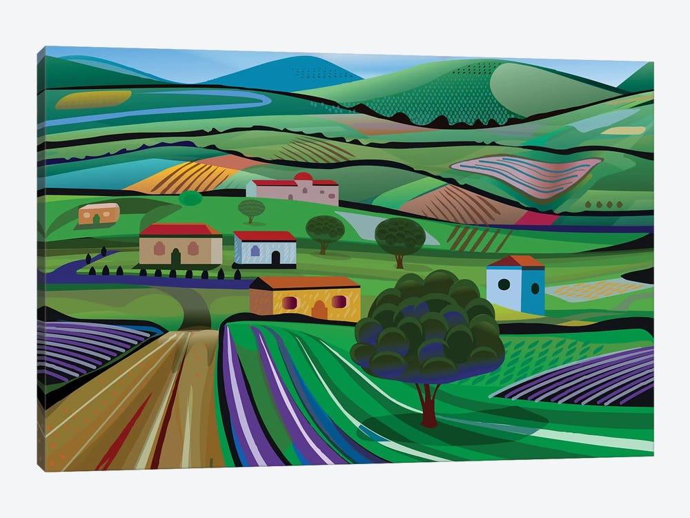 Santa Barbara Farms by Charles Harker 1-piece Canvas Wall Art
