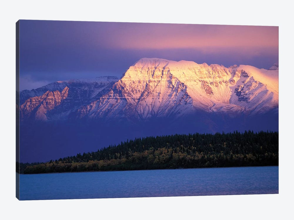 Mt. Katolinat With Naknek Lake In The Foreground, Katmai National Park & Preserve, Alaska, USA by Hugh Rose 1-piece Canvas Art