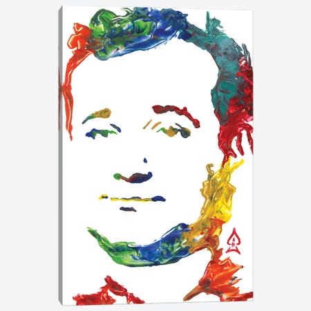 Bill Murray Canvas Print #HRR11} by Andrew Harr Art Print