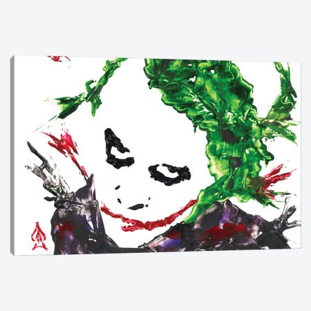 Joker Abstract I Canvas Print #HRR13} by Andrew Harr Art Print