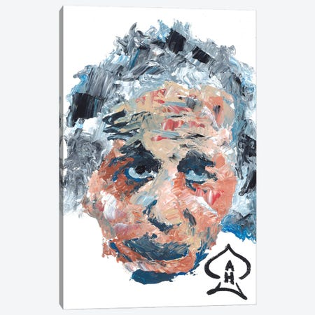 Einstein I Canvas Print #HRR15} by Andrew Harr Canvas Wall Art