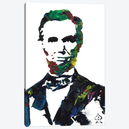 Lincoln II Canvas Print #HRR16} by Andrew Harr Canvas Artwork