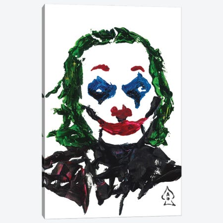 Joker Abstract II Canvas Print #HRR17} by Andrew Harr Canvas Wall Art