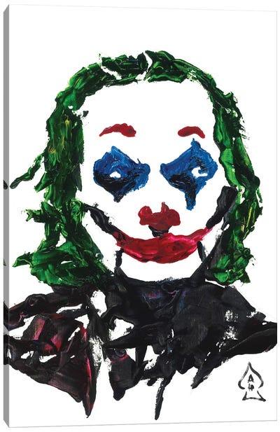 Joker Abstract II Canvas Art Print