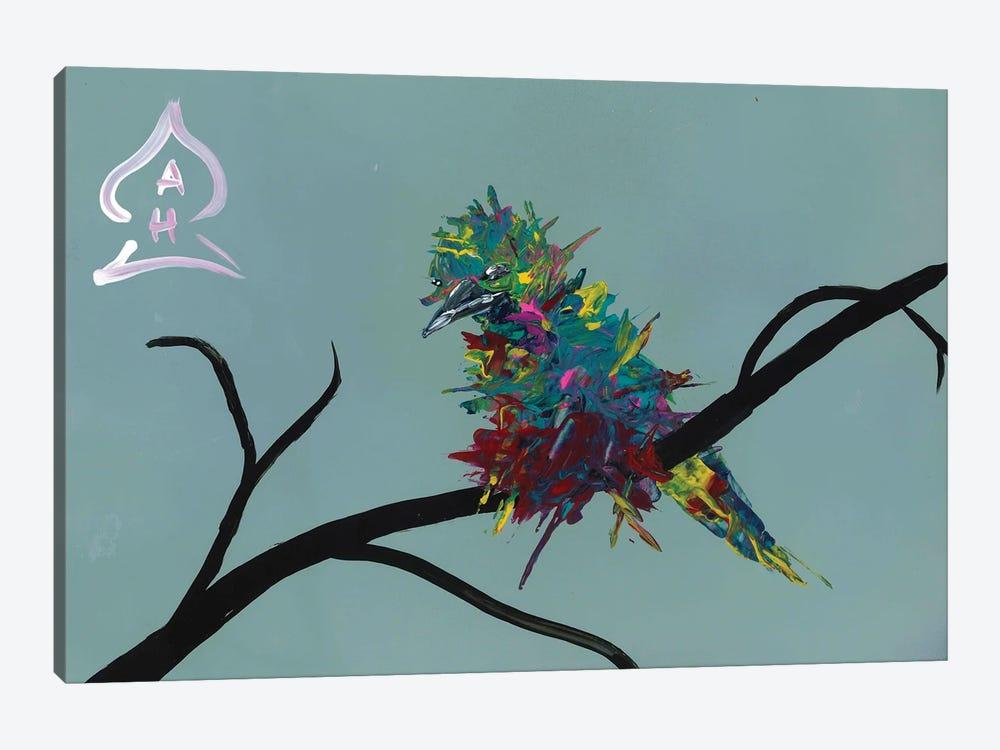 Bird on Branch by Andrew Harr 1-piece Canvas Artwork