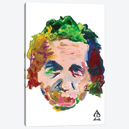 Einstein II Canvas Print #HRR22} by Andrew Harr Canvas Wall Art