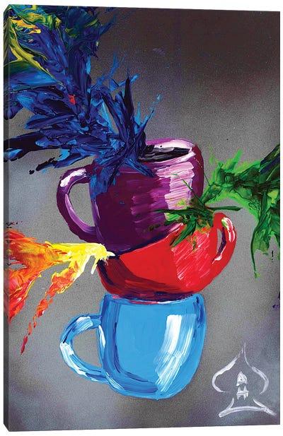 Cups Canvas Art Print