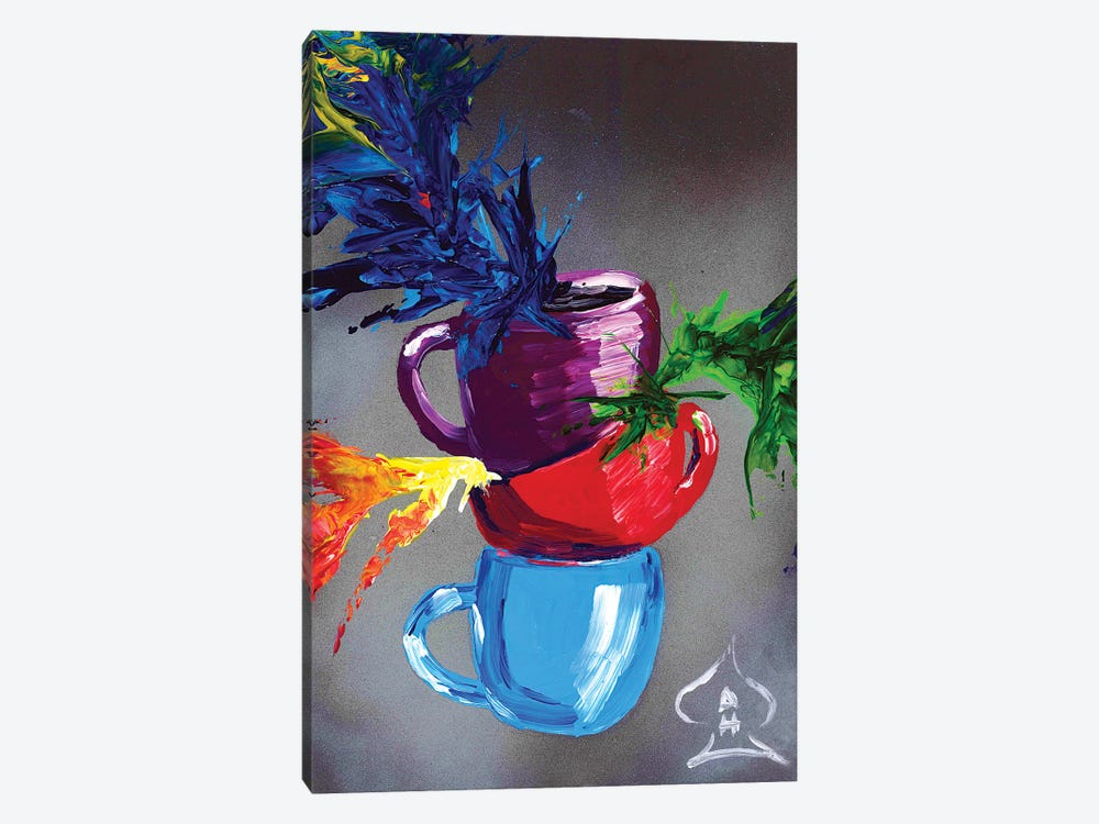 Cups by Andrew Harr 1-piece Canvas Wall Art