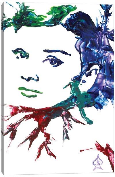 Audrey Hepburn Abstract I Canvas Art Print