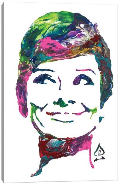 Hepburn II Canvas Art Print
